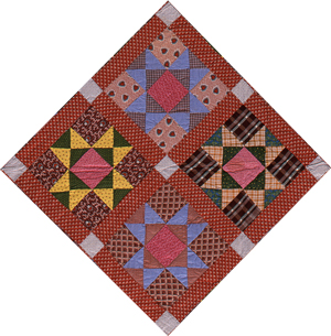 Free Quilt Pattern For 8 Point Star : 8 POINT STAR QUILTING PATTERN Quilts & Patterns